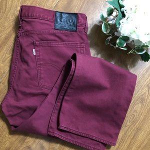 NWOT Levi's 513 white tab Corduroy Men's Pants